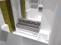 Detail badkamer