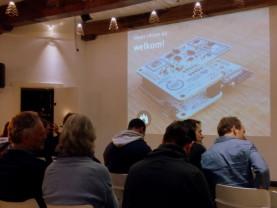 Presentatie bij de Waag