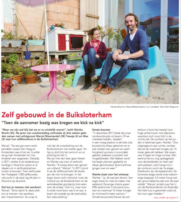 Deel 1, interview Marcel en Nienke