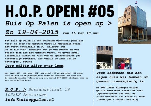 H.O.P. Open! #5