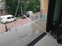 Balkon na reien